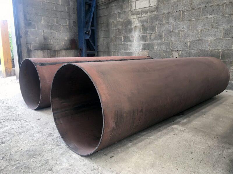 Tubos de revestimento produzido em aço Hardox