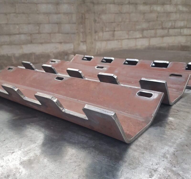 Palhetas para o secador rotativo de cimento produzidas em aço Hardox
