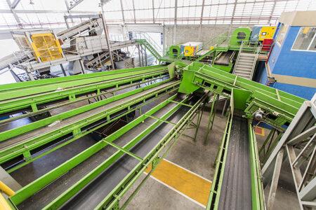Soluções antidesgaste para o segmento de Reciclagem